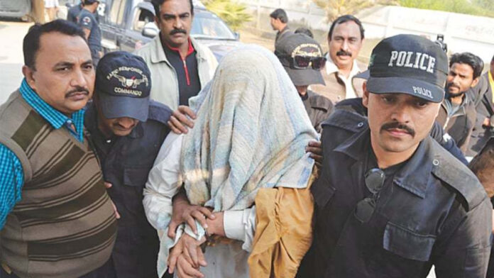 Student ARRESTED IN PAKISTAN