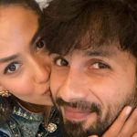 Shahid kapoor with her wife