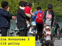 China Announces 3 child policy