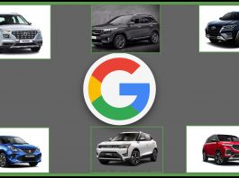 top searched cars on google 2019
